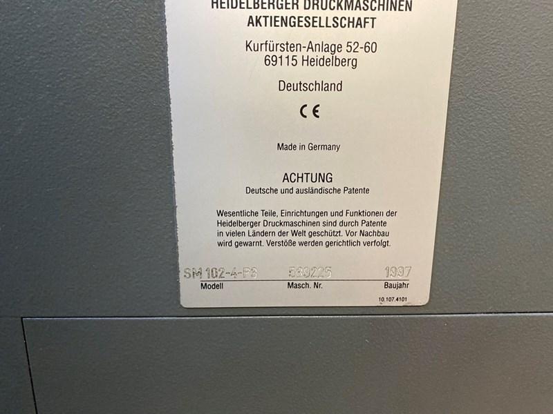 Heidelberg SM 102-4P