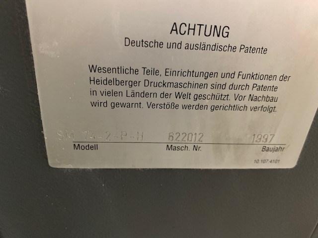 Heidelberg SM 74-2PH