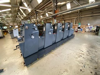 Heidelberg GTO 52 - 5 - P3 Sheet Fed