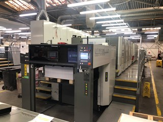 Komori Lithrone GL 840 P (H) H-UV  Sheet Fed