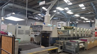 Komori Lithrone L 640 plus Coater 1998 Sheet Fed