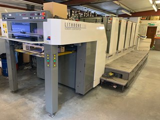 Komori Lithrone S 529 (H) H-UV Sheet Fed