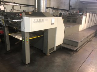 Komori Lithrone LS 529 plus Coater UV Sheet Fed
