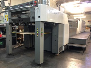 Komori Lithrone LS 529 plus Coater UV 单张纸胶印机