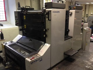 Komori Sprint SII 228 Sheet Fed