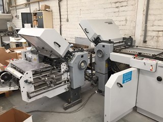 Heidelberg Ti 52 - 4/4/K Folding machines