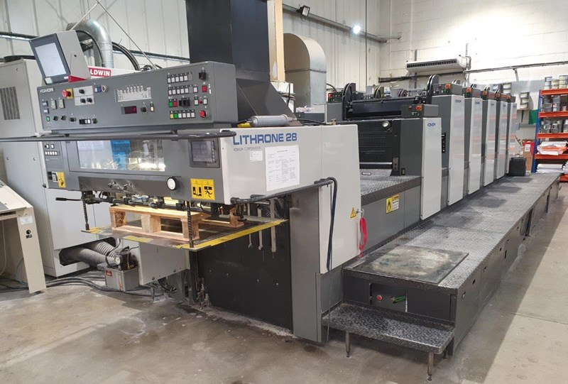 Show details for Komori Lithrone L 528 EM plus Coater