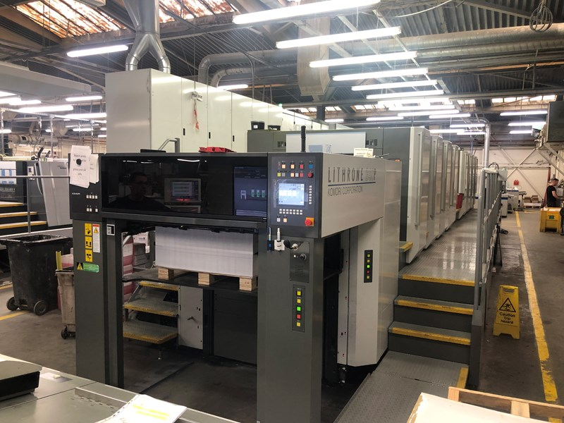 Show details for Komori Lithrone GL 840 P (H) H-UV