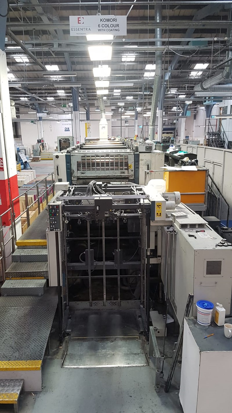 Komori Lithrone L 640 plus Coater 1998