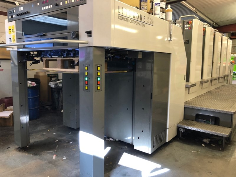 Show details for Komori Lithrone S 529 (H) H-UV