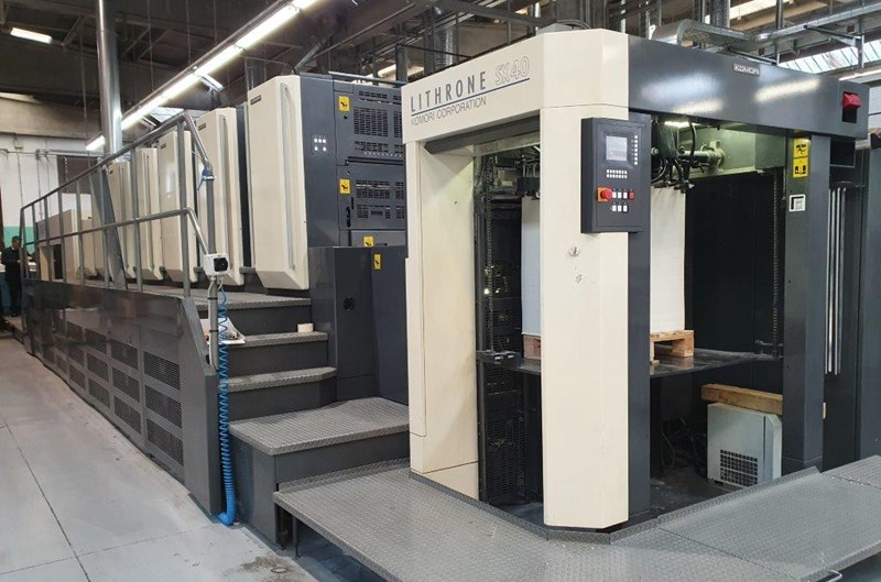 Show details for Komori SX 640 C 750mm x 1050mm