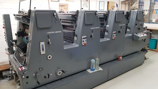 Heidelberg GTOV-P 52 Sheet Fed