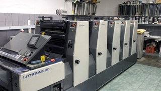 Komori L 520 Sheet Fed
