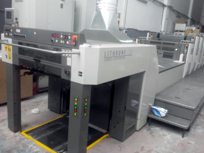 Show details for Komori Lithrone LS 529 + C
