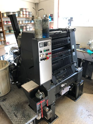 Heidelberg PM GTO 52-1 +version Sheet Fed