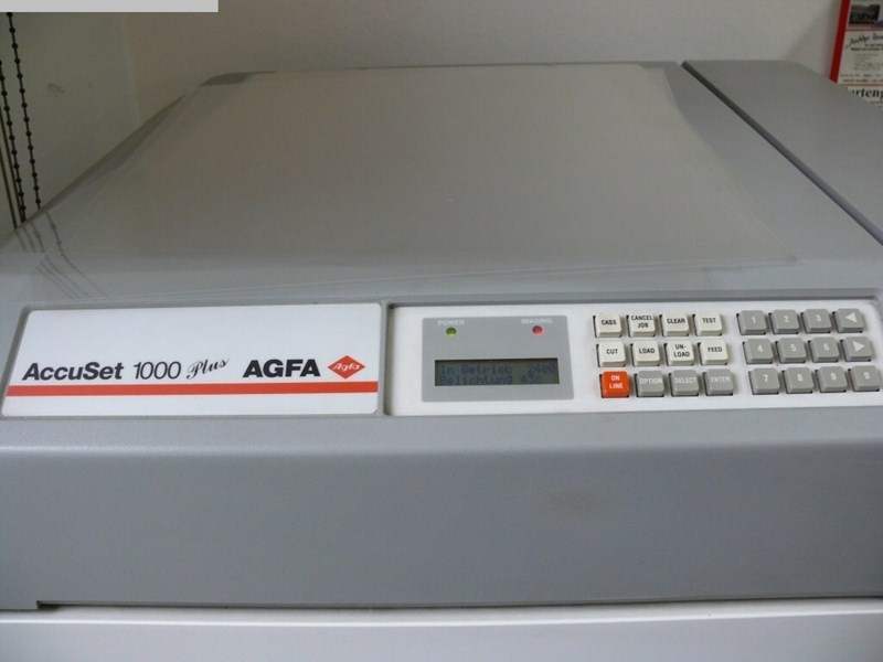 Show details for AGFA AccuSet 1000Plus