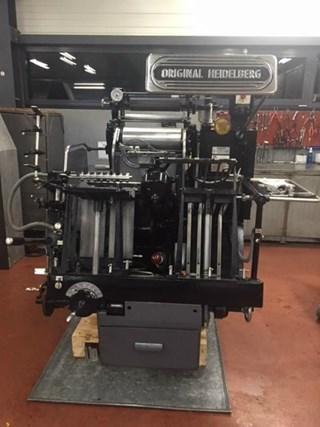 HEIDELBERG ORIGINAL TP Buchdruck-Zylinder & Tiegel