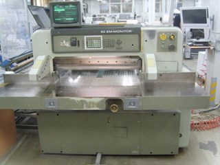 Polar 92 EM MONITOR Guillotines/Cutters