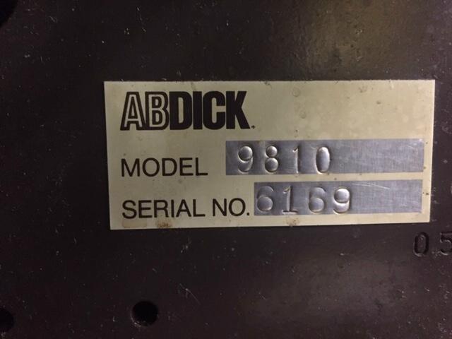 A.B. Dick 9810