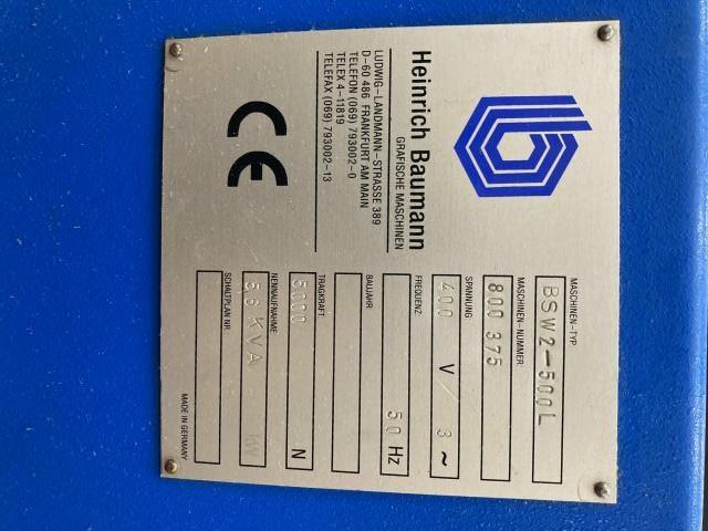 Baumann BSW 2 500L