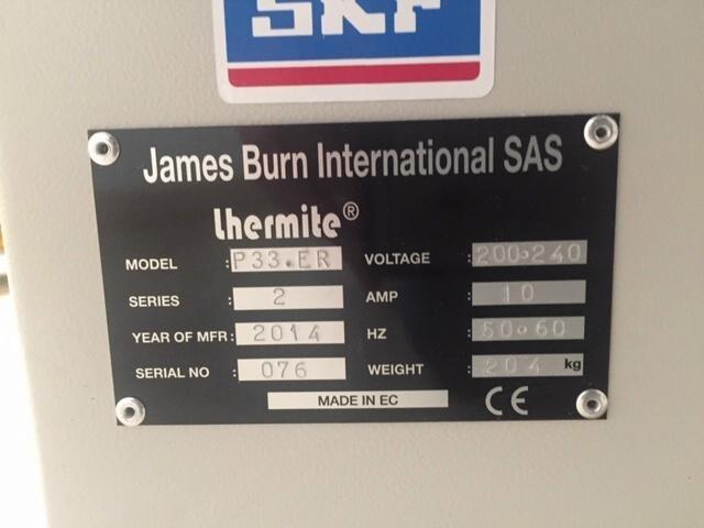 Show details for James Burn Docu-Punch P33