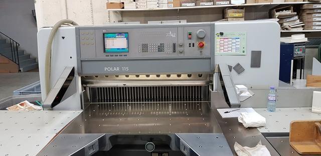 Polar 115 ED cutting line