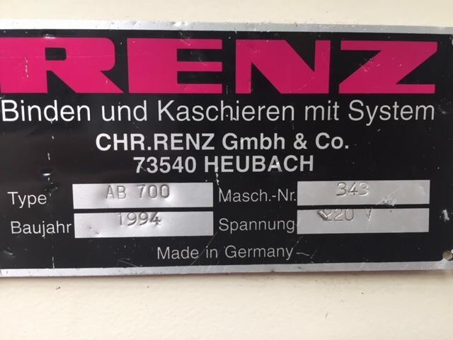 RENZ AUTOBIND 700