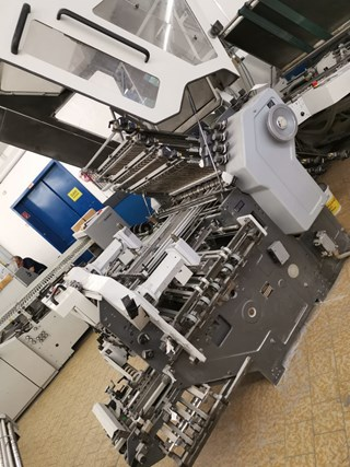 Heidelberg KD 78/6 KTLL -RD Folding machines