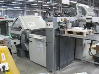 Heidelberg Stahlfolder KH 78 / 4 KL- PH Folding machines