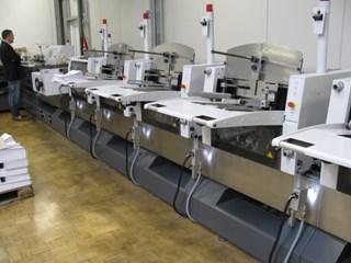 Heidelberg ST 350 Cosedoras embuchadoras; Encoladoras / Fresadoras