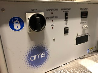 AMS SC 400  LED UV U.V. e I.R. Dryers