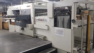 Bobst SP 102-E Die Cutting