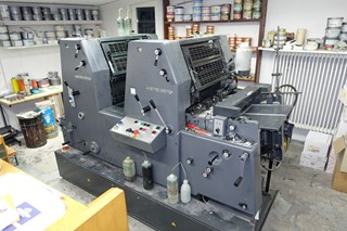 Heidelberg GTO 52-2-Z