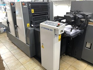 Komori Lithrone L-220 Machines offset à feuilles