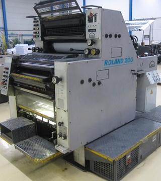 Man-Roland 202 T OB Machines offset à feuilles