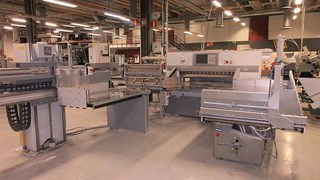 Polar 137 XT Cutting Line 切纸机