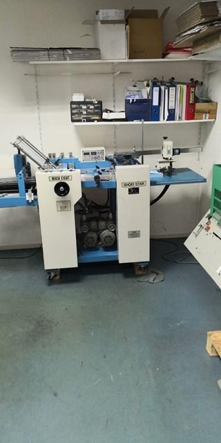 Shoei Mach Eight Folding Machines