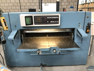 Wohlenberg 137 MCS-2 TV Guillotines/Cutters