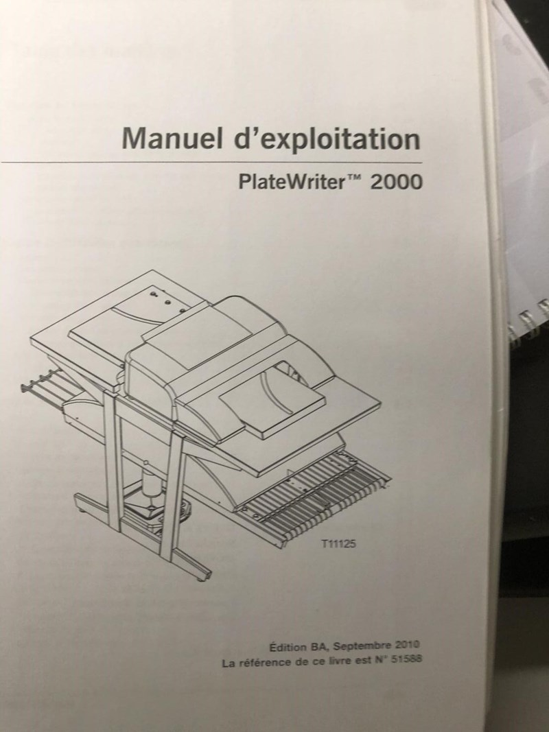 Epson ICtP ICtP Platewriter 2000