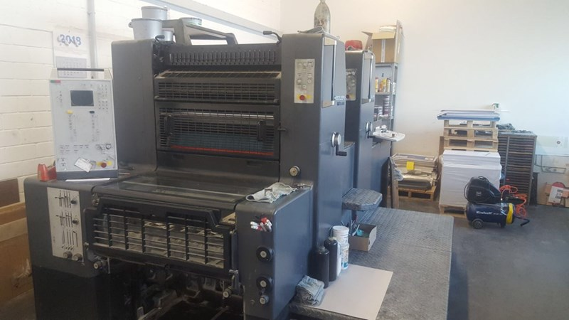 Show details for Heidelberg Printmaster 74-2 P