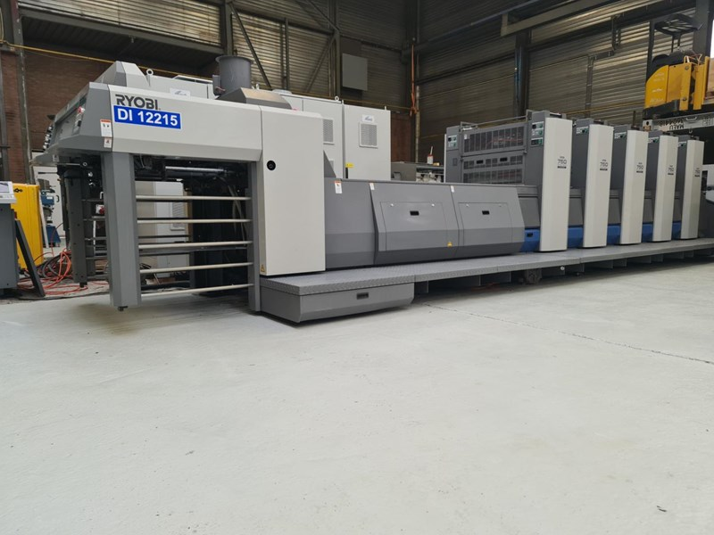 Show details for Ryobi 754 Wide SW UV-Coater 2009 — only 2 mio prints Like New!!–