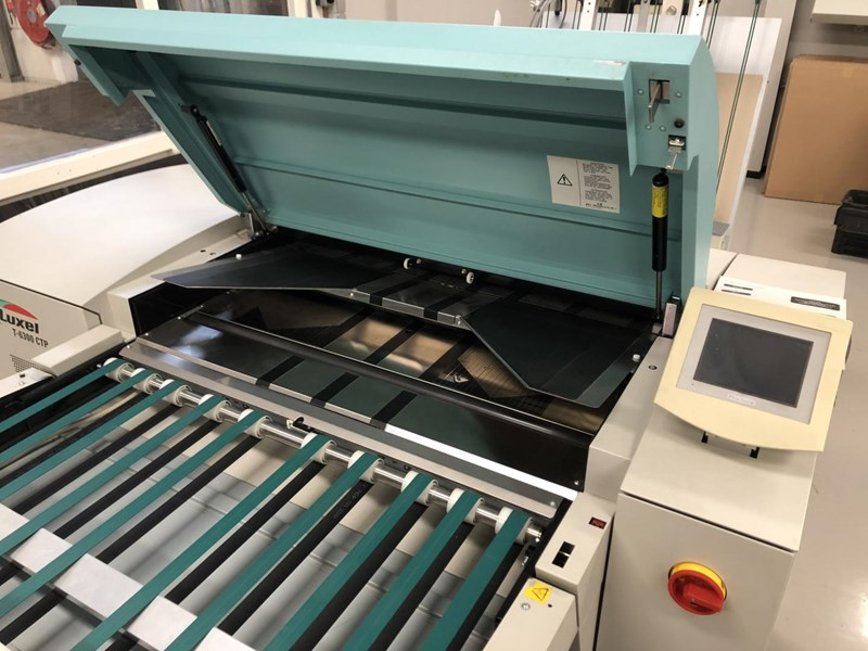 Show details for Screen PlateRite 4300 E and MAL Loader