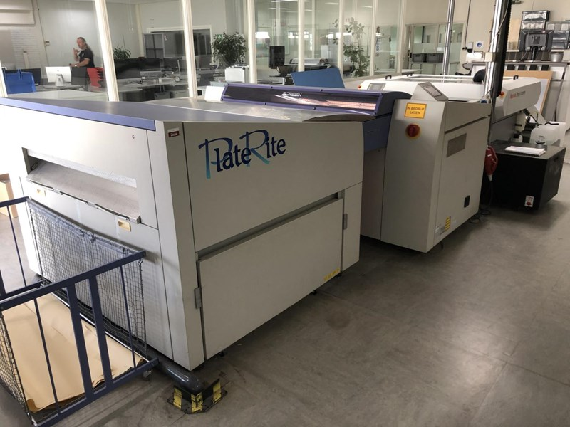 Screen PlateRite PT-R8000 with SAL Autoloader