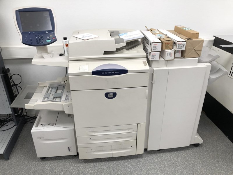 Show details for Xerox Docucolor 250