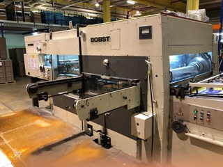 Bobst SP 142 E Die Cutting