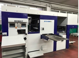 Bobst SP 76-E BM Die Cutting
