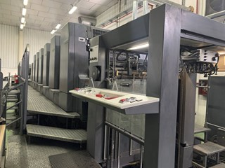 Heidelberg CD 102-6+LX2 Hybrid Sheet Fed