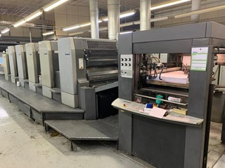 Heidelberg CD 102-5+LX Machines offset à feuilles