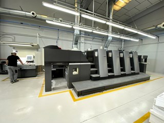 Heidelberg CD 74-4(C) Sheet Fed
