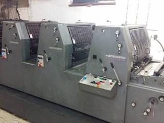 Printmaster GTO 52-4 Gebrauchte Bogenoffsetmaschinen